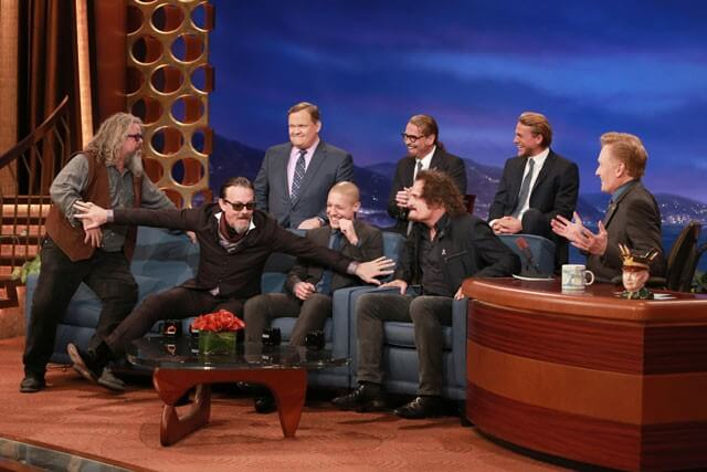 Sons of Anarchy Cast on Conan