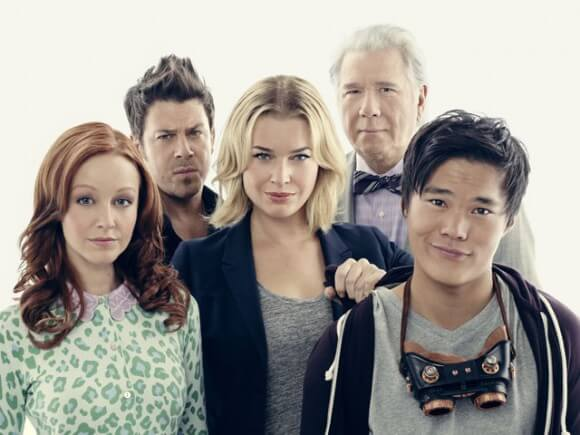 Rebecca Romijn The Librarians Interview