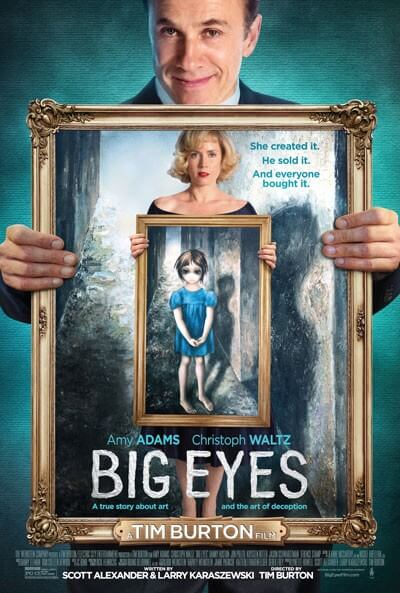 Big Eyes Lyric Video and UK Poster