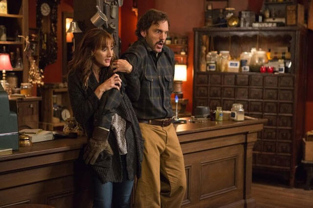 Bree Turner and Silas Weir Mitchell in Grimm