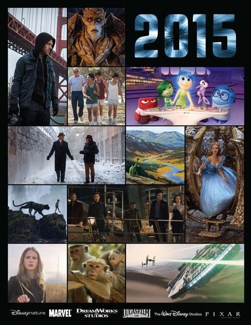 Disney, Pixar and Marvel 2015 Movie Preview