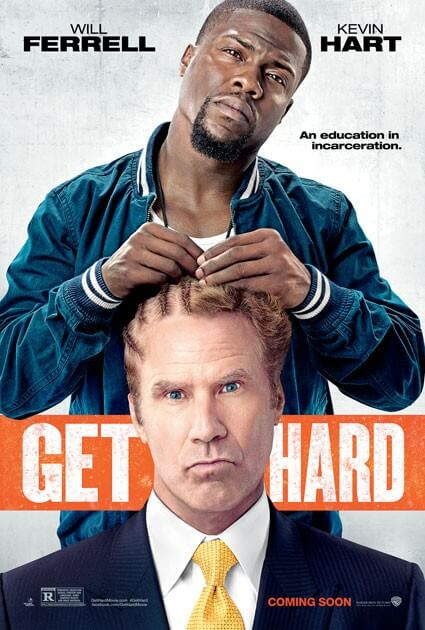Get Hard New Movie Trailer and Poster with Will Ferrell and Kevin Hart