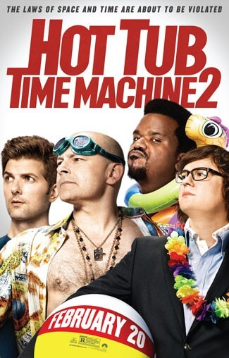 Hot Tub Time Machine Poster and Trailer