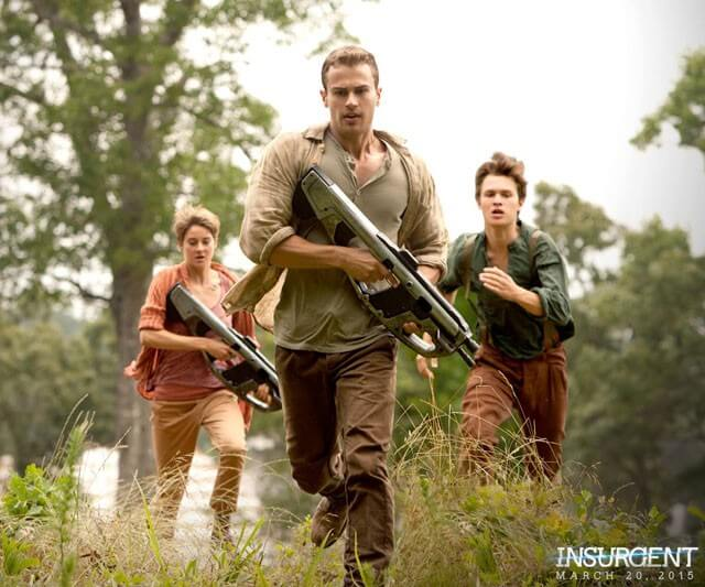 Allegiant Part 1 with Shailene Woodley Starts Filming