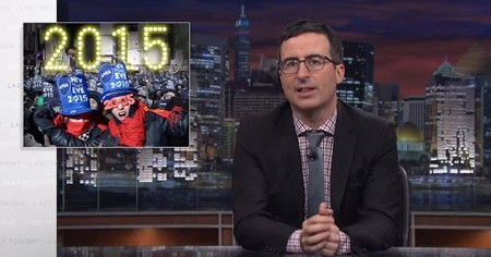 John Oliver Takes on New Year's Eve