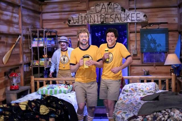 Jimmy Fallon and Justin Timberlake Go to Camp and Sing Third Eye Blind