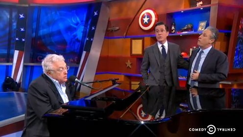 Stephen Colbert's Celebrity Friends Sing We'll Meet Again