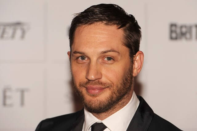 Tom Hardy Smiling Photo