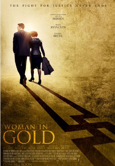 Woman in Gold Movie Trailer and Poster