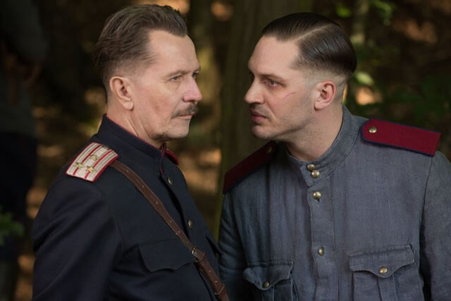 Child 44 Movie Trailer Starring Tom Hardy and Gary Oldman