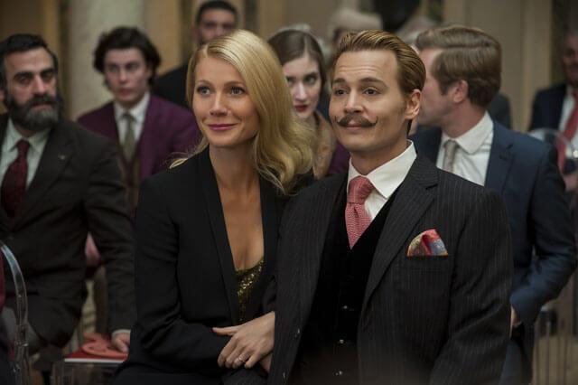 Mortdecai Movie Review Starring Johnny Depp