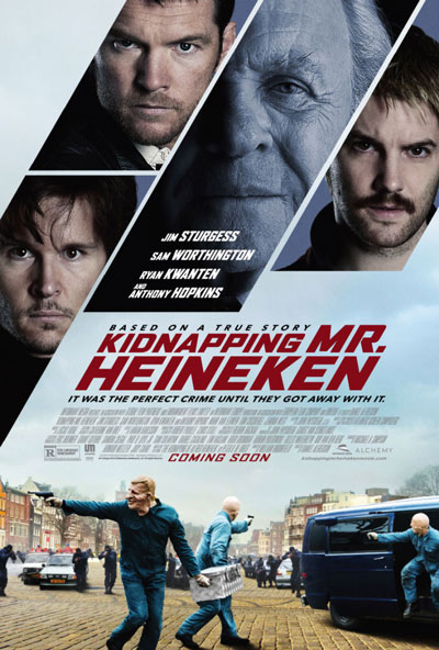 Kidnapping Mr Heineken Trailer and Poster