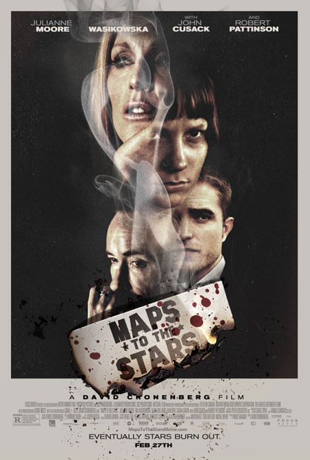 Maps to the Stars New Movie Trailer and Poster