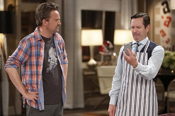 Matthew Perry Interview on The Odd Couple