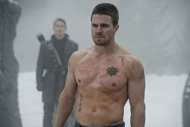 Stephen Amell Interview on Arrow Season 3's Second Half, Felicity, and Workouts