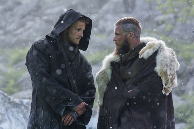 Travis Fimmel and Alexander Ludwig Vikings Season 3 Interview