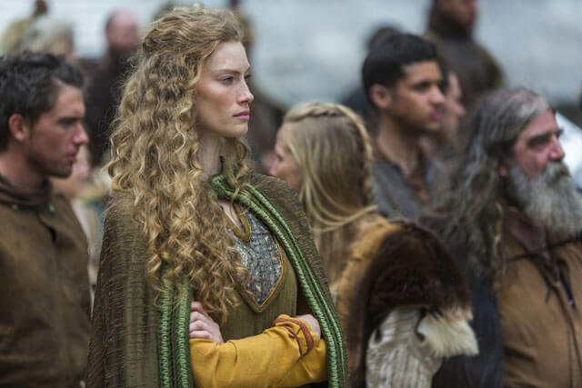 Alyssa Sutherland and Ben Robson Vikings Season 3 Interview