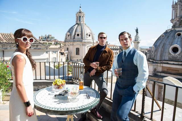 The Man From UNCLE New Trailer with Henry Cavill, Armie Hammer