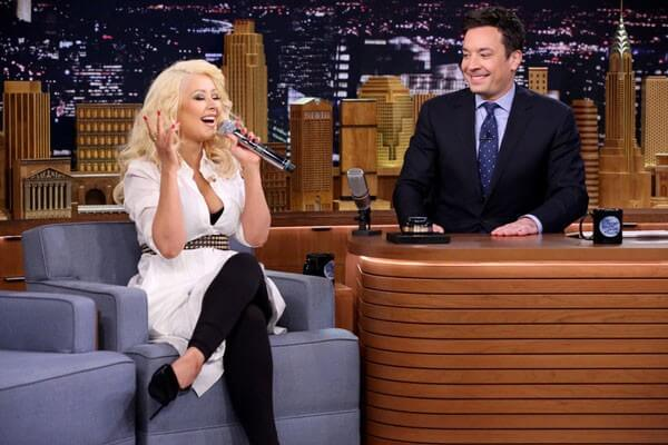 Christina Aguilera Does Britney, Cher, and Shakira