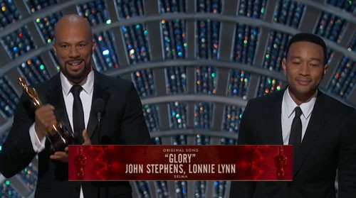 Common and John Legend Glory Performance 2015 Oscars