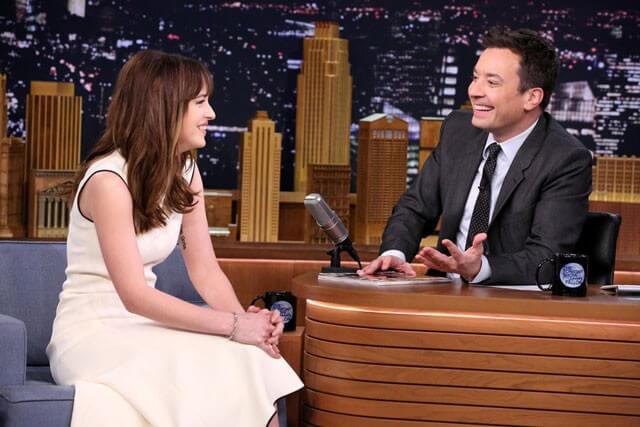 Dakota Johnson and Jimmy Fallon Play Anything Can Be Sexy