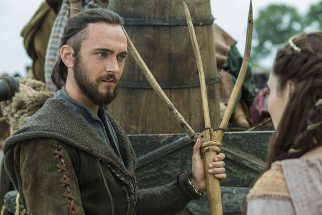 George Blagden Interview on Vikings Season 3