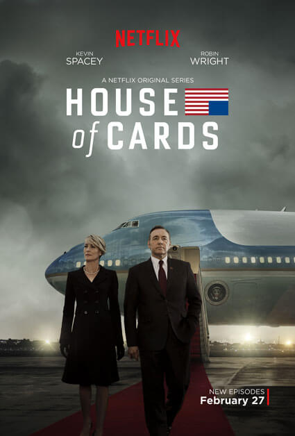House of Cards Season 3 Poster with Kevin Spacey