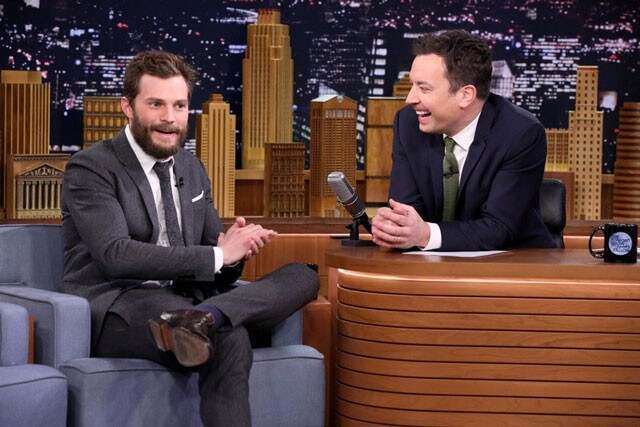 Jamie Dornan and Jimmy Fallon Play Fifty Accents of Grey