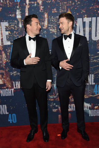 Justin Timberlake and Jimmy Fallon Open the SNL 40th Anniversary Special
