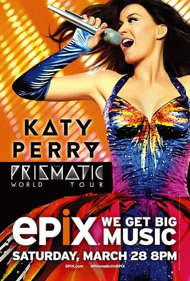 Katy Perry Prizmatic World Tour Special Set for Epix