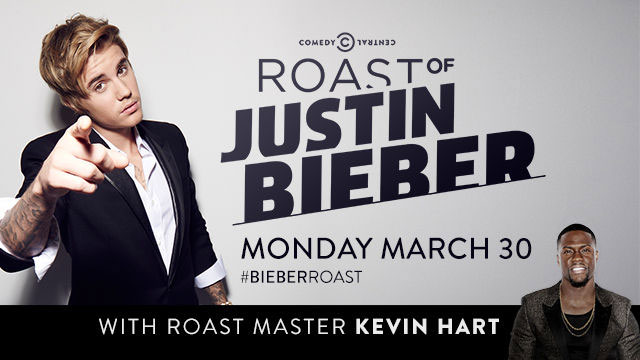 Kevin Hart to Host the Justin Bieber Roast