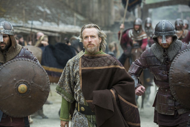 Linus Roache Interview Vikings Season 3