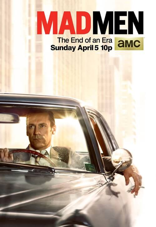 Mad Men Final Poster - Where's Don Going?