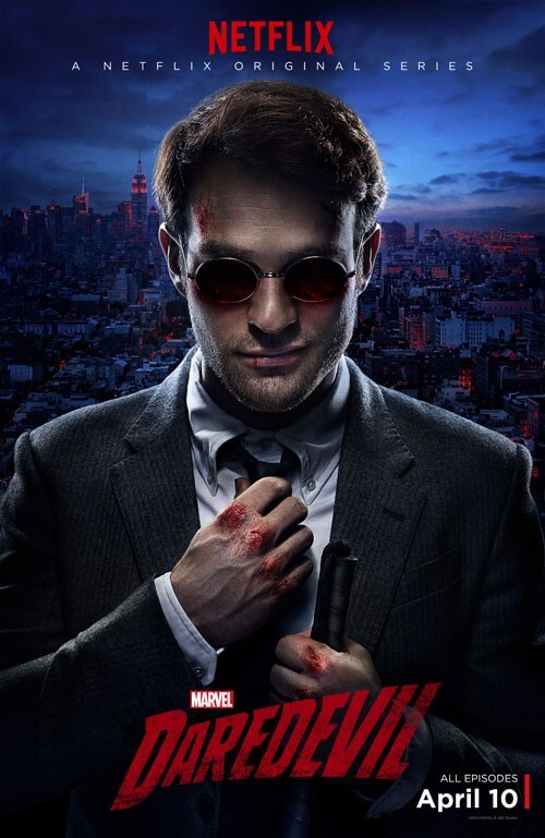 Marvel's Daredevil New Poster and Motion Poster