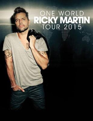 Ricky Martin One World Tour Dates 2015