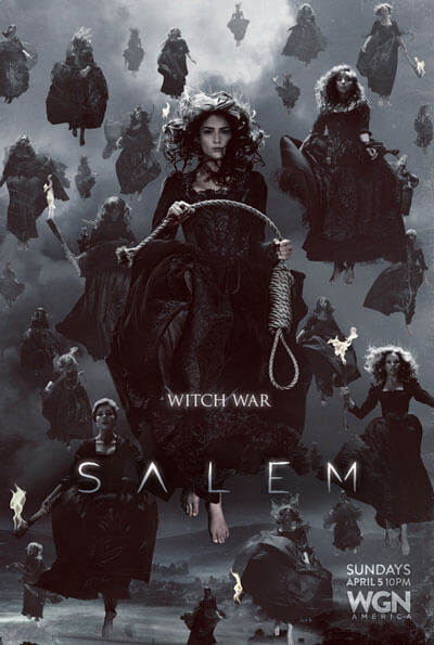 Salem Witch War Poster Season 2
