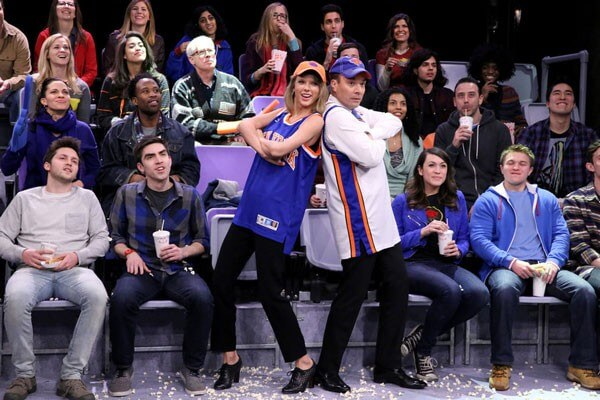 Taylor Swift and Jimmy Fallon Dance on Jumbotrons