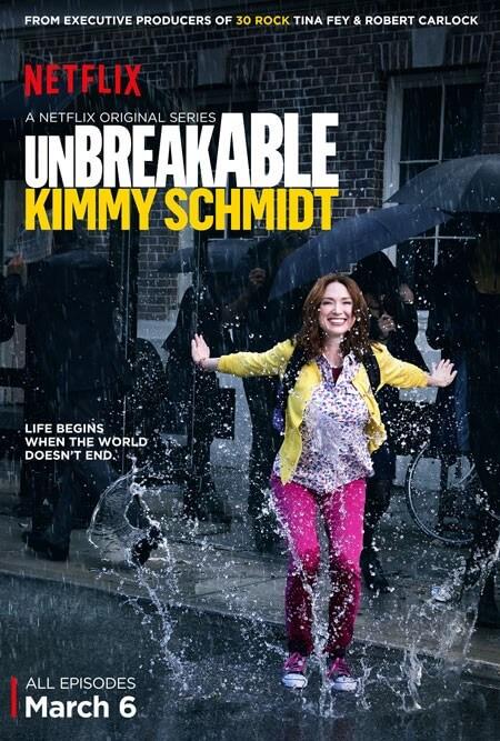 Unbreakable Kimmy Schmidt Poster Featuring Ellie Kemper