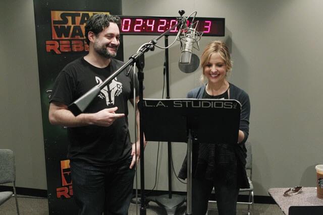 Sarah Michelle Gellar Joins the Star Wars Rebels Cast