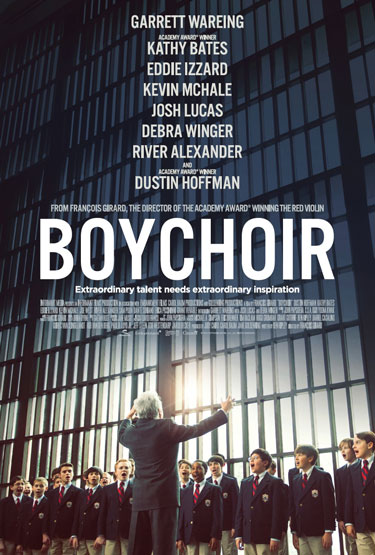 Boychoir Movie Trailer and Poster with Dustin Hoffman