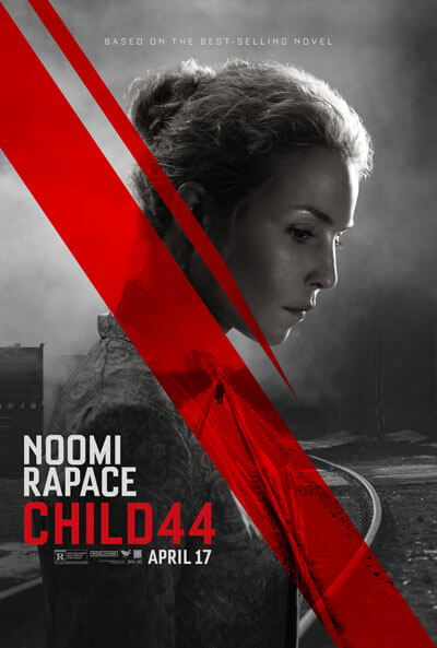 Child 44 Movie Poster with Noomi Rapace