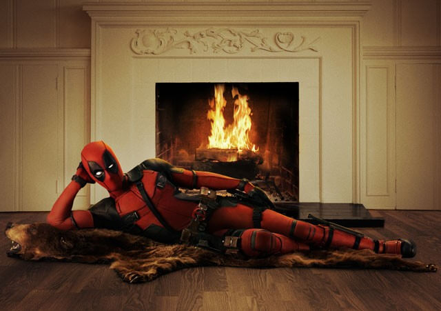 Ryan Reynolds Deadpool Sexy Pose