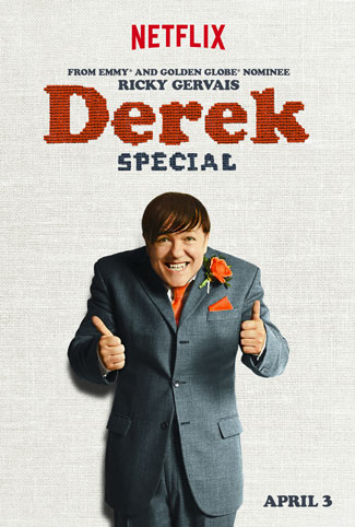Derek Special Trailer and Poster with Ricky Gervais