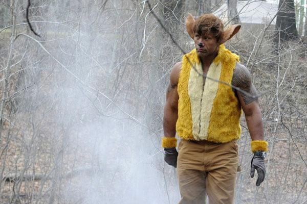 Dwayne Johnson as Bambi SNL Video