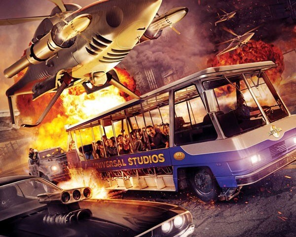 Universal Studios Unveils Its Fast and Furious Ride