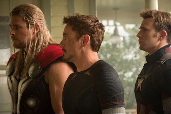 Avengers Age of Ultron Gag Reels