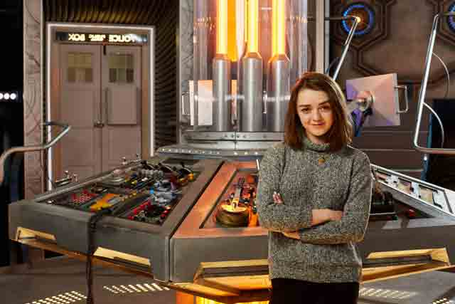 Maisie Williams Guest Stars on Doctor Who
