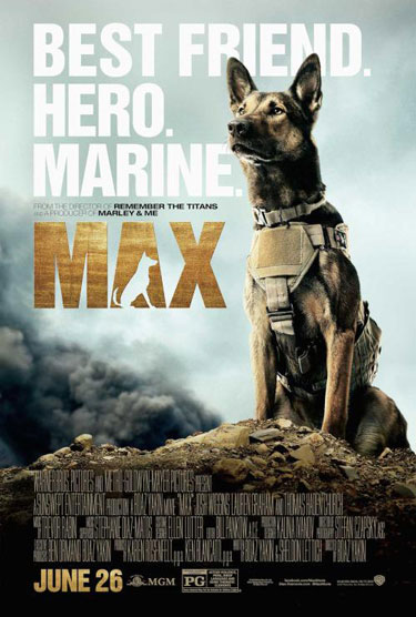 Max Movie Trailer and Poster