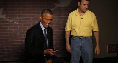 President Obama Reads Mean Tweets on Jimmy Kimmel LIve