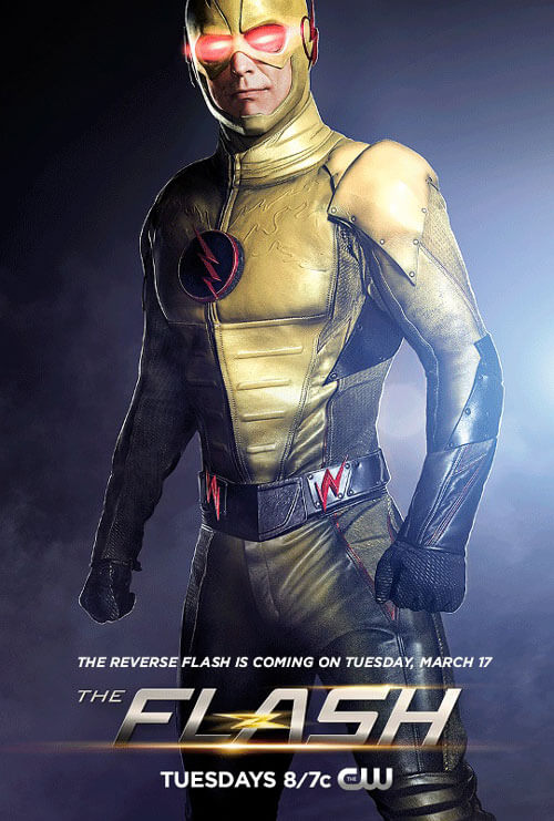 First Photo of Tom Cavanagh as Reverse Flash